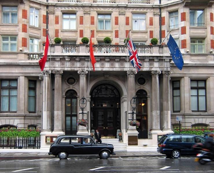 St Pancras Hotel London.