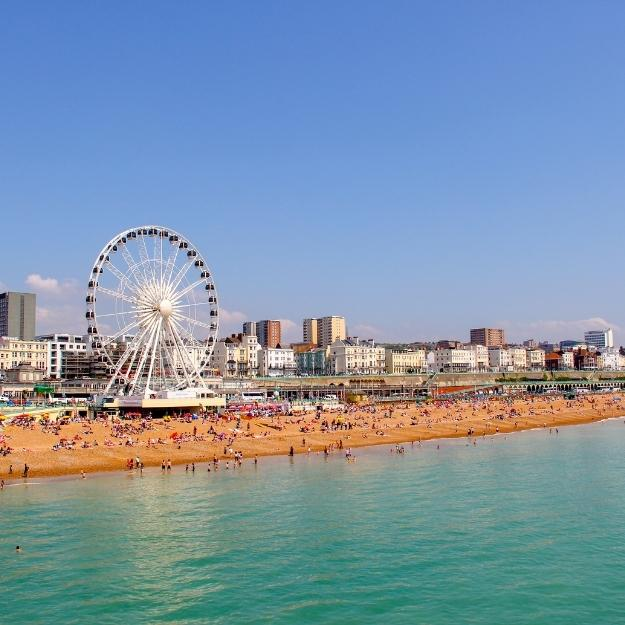 Brighton in the south east of England - London Travel Guide.