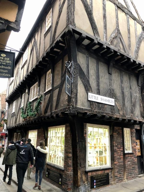 View of Little Shambles in York.