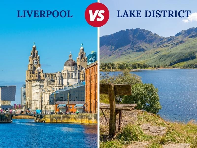 Liverpool versus the Lake District illustration.