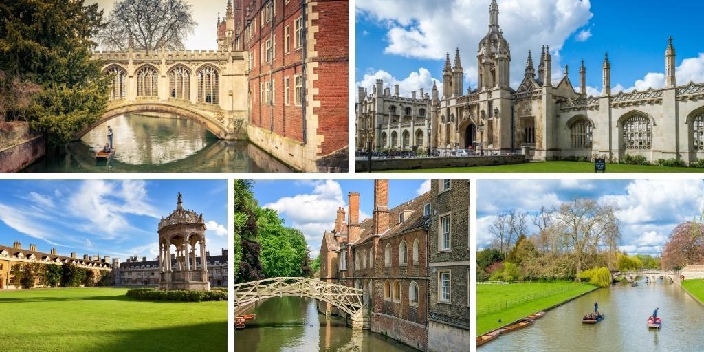 Views of Cambridge England
