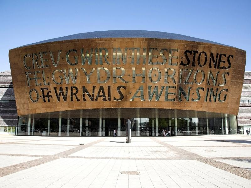 Visiting the the Wales Millennium Centre is one of the best things to do in Cardiff