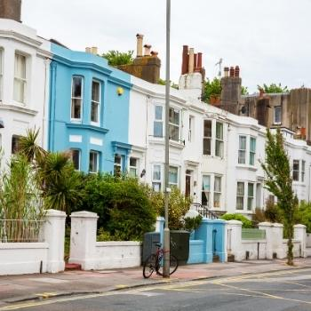 Houses in Brighton England - brighton-travel-guide.