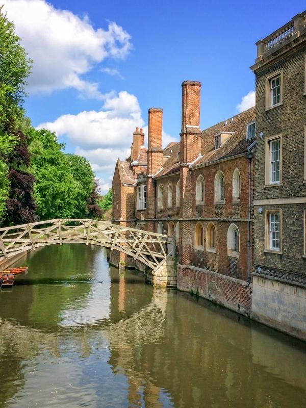Mathematical bridge in Cambridge.