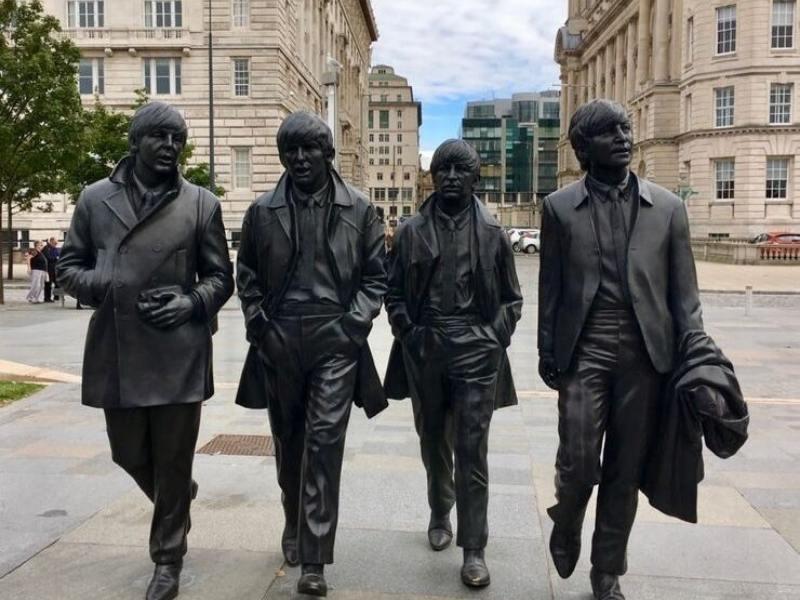 Beatles statue in Liverpool.