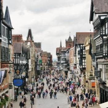 Centre of chester.