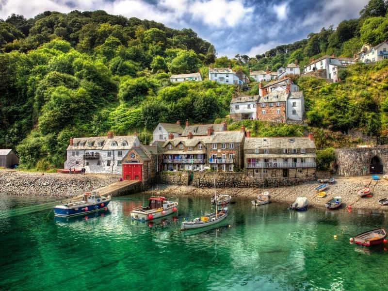 Clovelly in Devon.