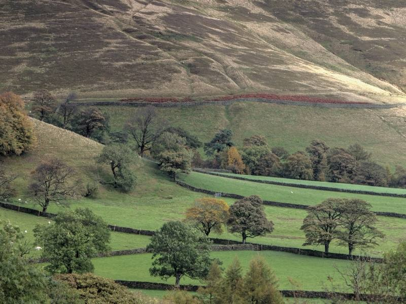 Beautiful Edale is one of the best places to stay in the Peak District.