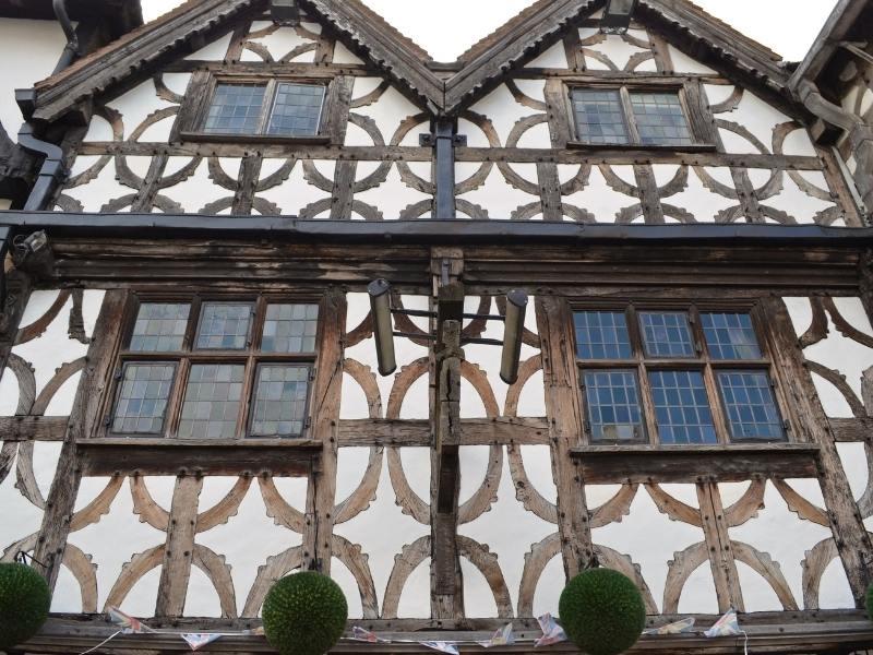 Medieval houses in Stratford upon Avon