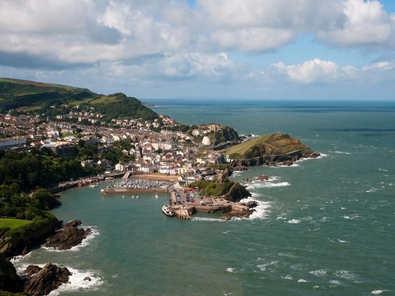 Ilfracombe in Devon.