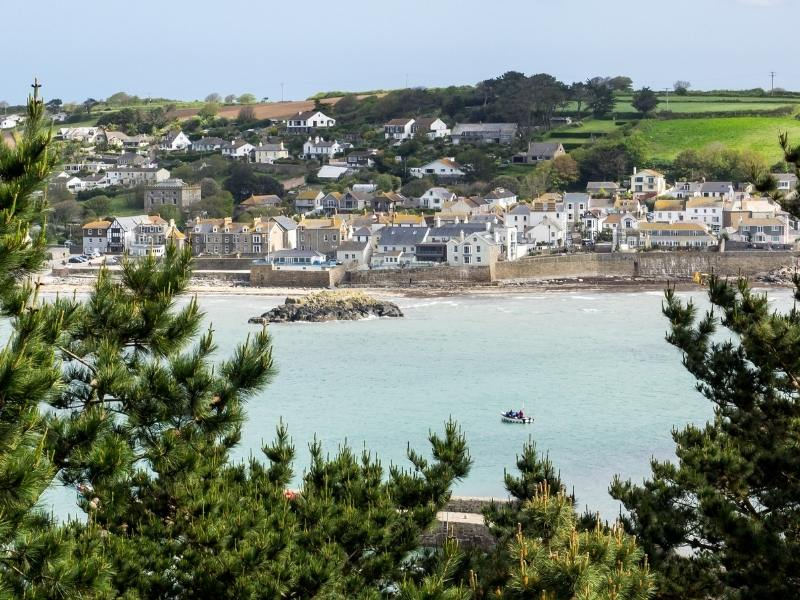 Marazion in Cornwall is one of the best places to stay in Cornwall.