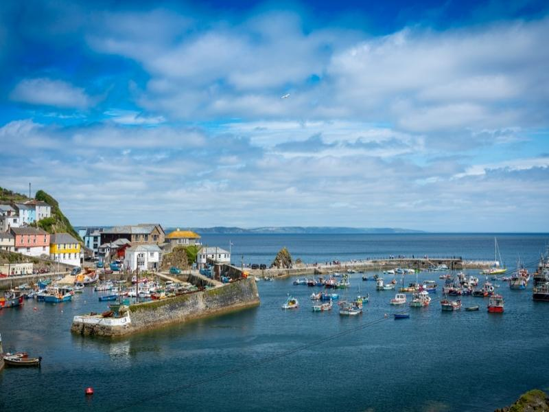 Mevagissey one of the most popular towns to visit in Cornwall