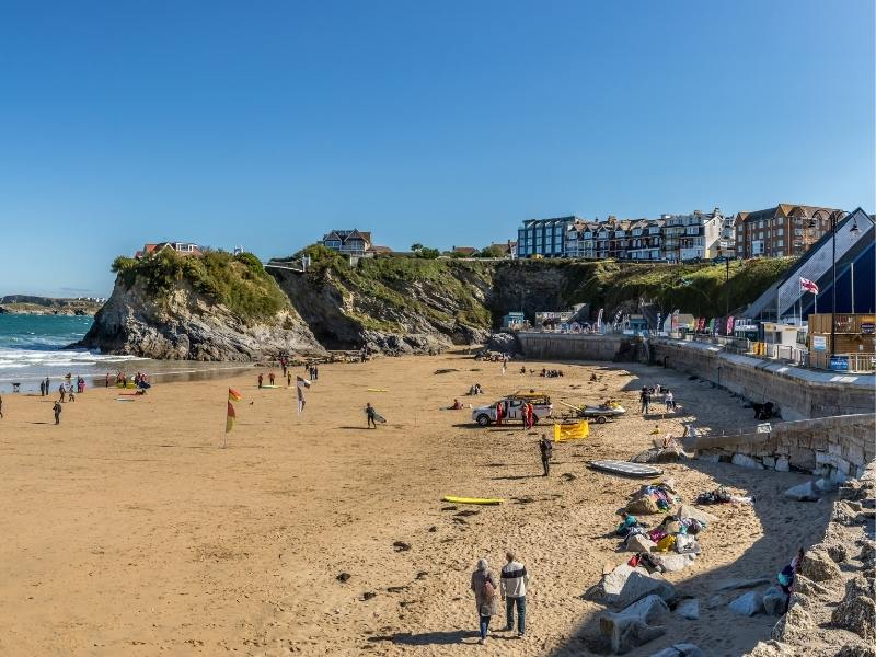 Newquay in Cornwall is one of the best places to stay in Cornwall.
