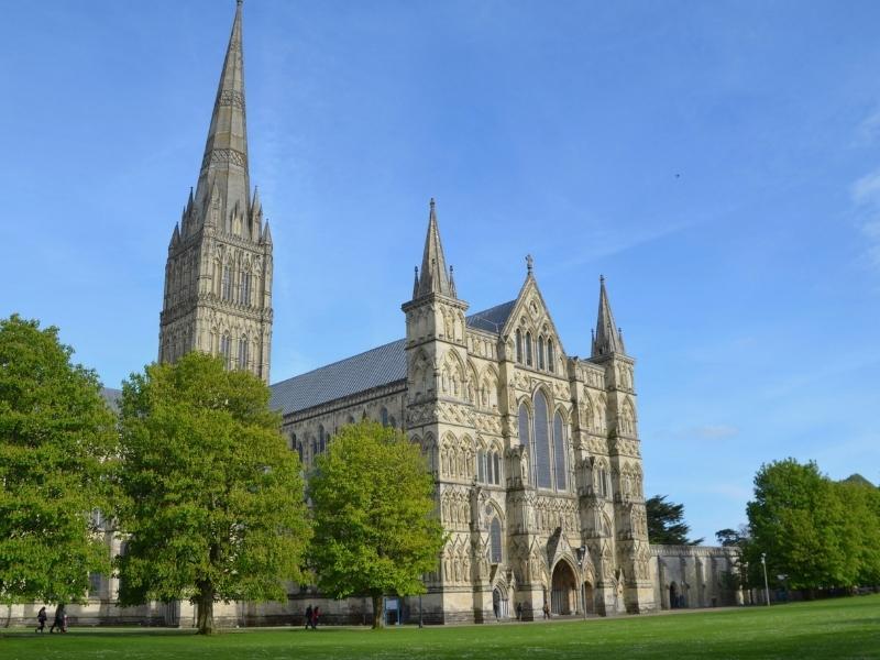 Salisbury Cathedral in Wiltshire