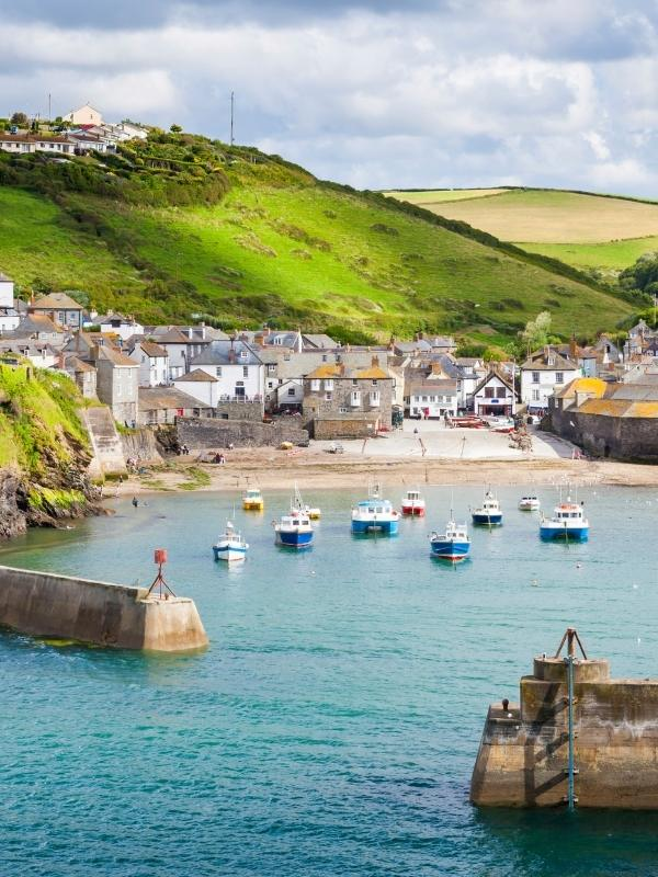 Port Isaac is one of the best places to stay in Cornwall.