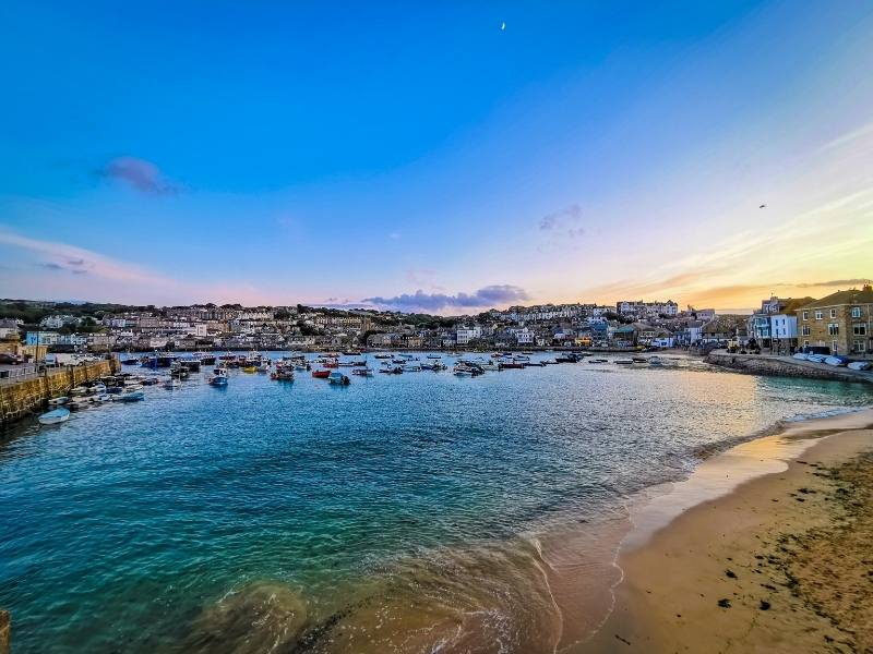 St Ives in Cornwall is one of the best places to stay in Cornwall.