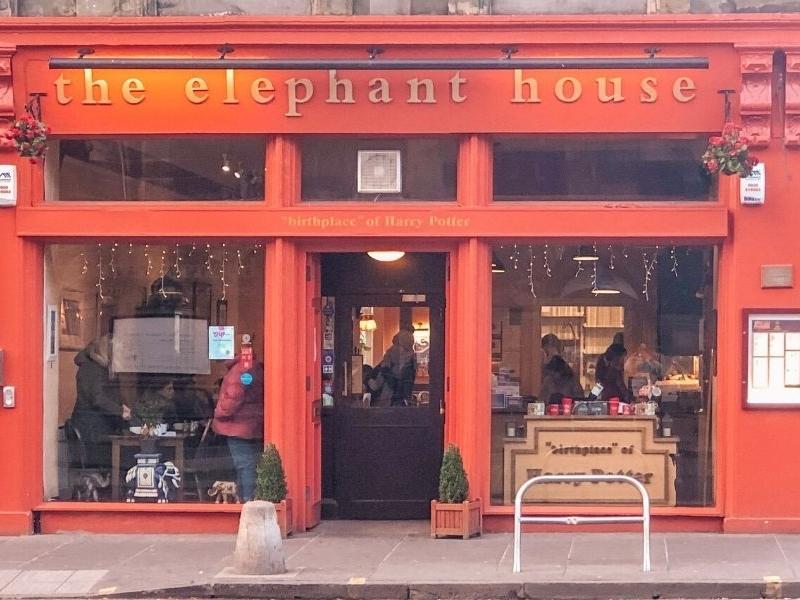 The Elephant House Cafe in Edinburgh.