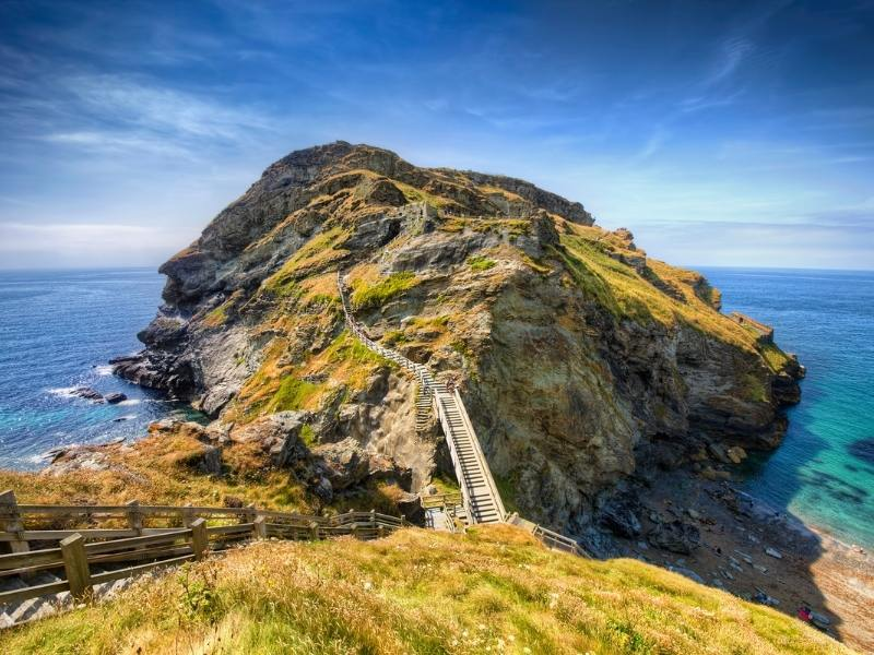 Tintagel in Cornwall is one of the best places to stay in Cornwall.