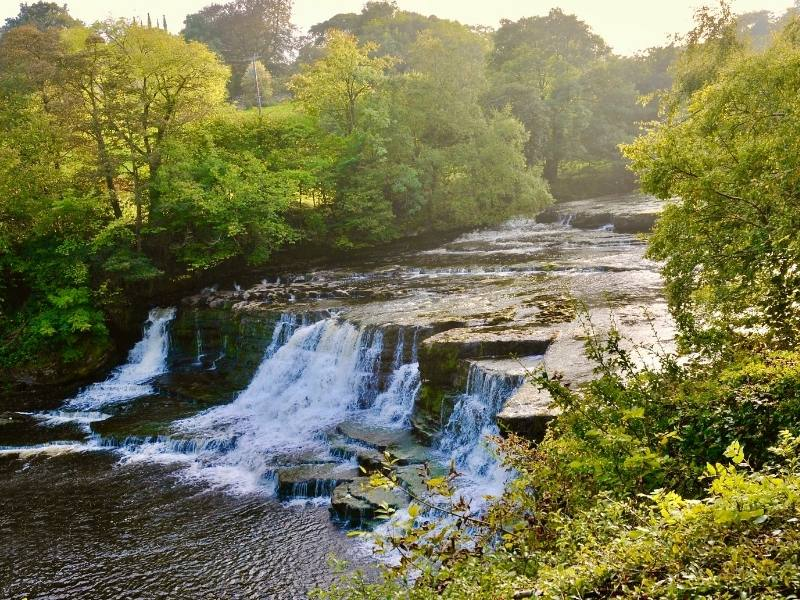Waterfall in Yorkshire.