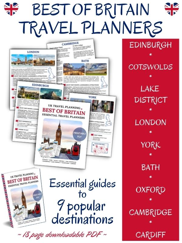 UK TRAVEL ITINERARY PLANNERS