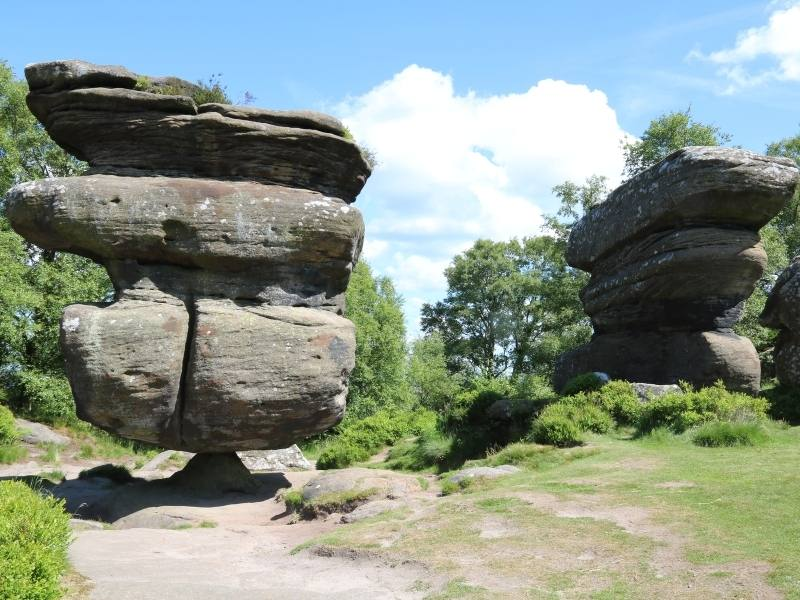 A visit to Brimham Rocks is one of the best Yorkshire day trips.