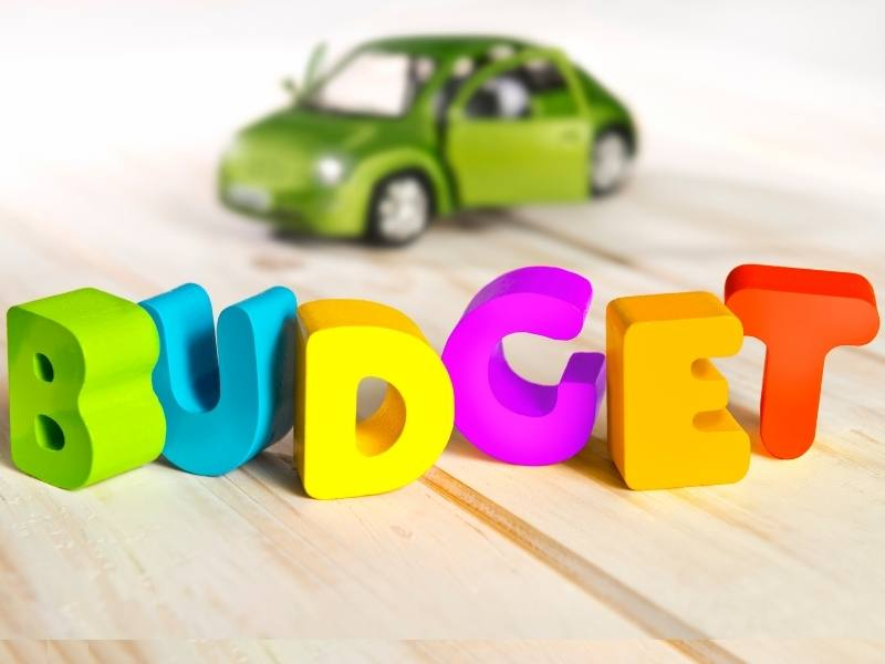 Consider your budget when renting a car in the UK.