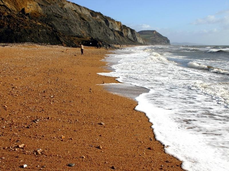 Charmouth Beach Dorset.