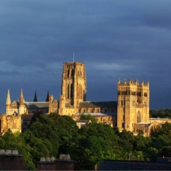 Durham Travel Guide view of Durham Cathedral.