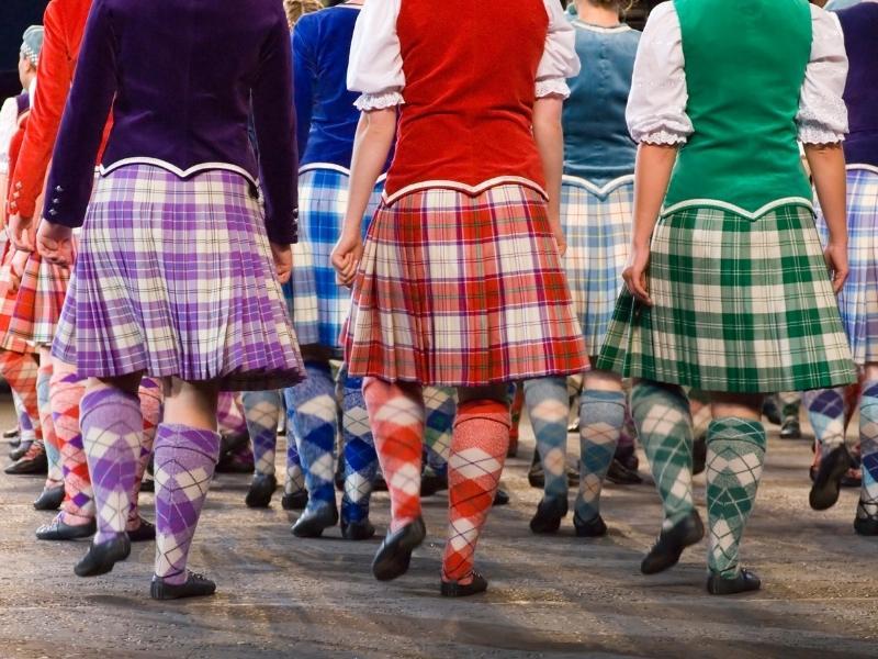 Highland dancers at the Edinburgh Tattoo in the Edinburgh Travel Guide.