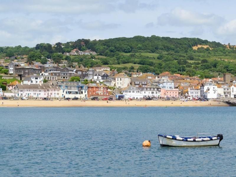 Lyme Regis in Dorset.