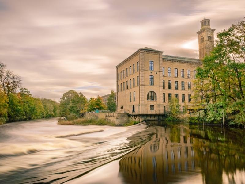 The Mill in Saltaire is one of the must visit places.