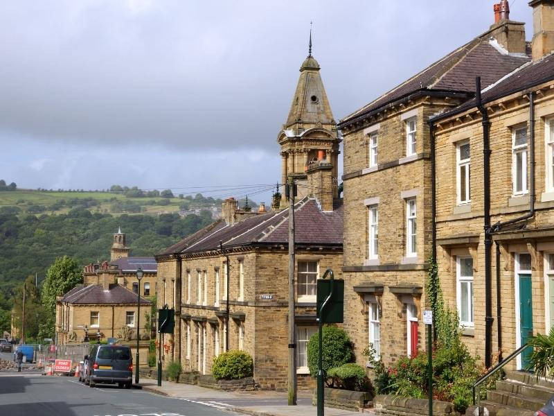 Things to do in Saltaire Yorkshire include strolling the streets.