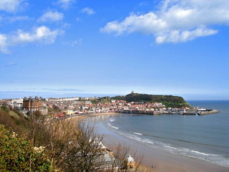 Scarborough is one of the best Yorkshire day trips for families.