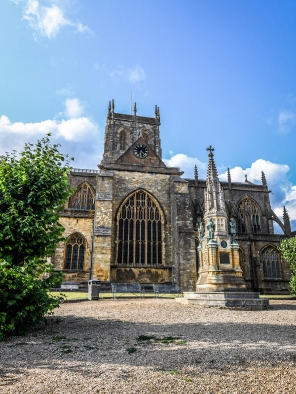 Sherborne Abbey Dorset.
