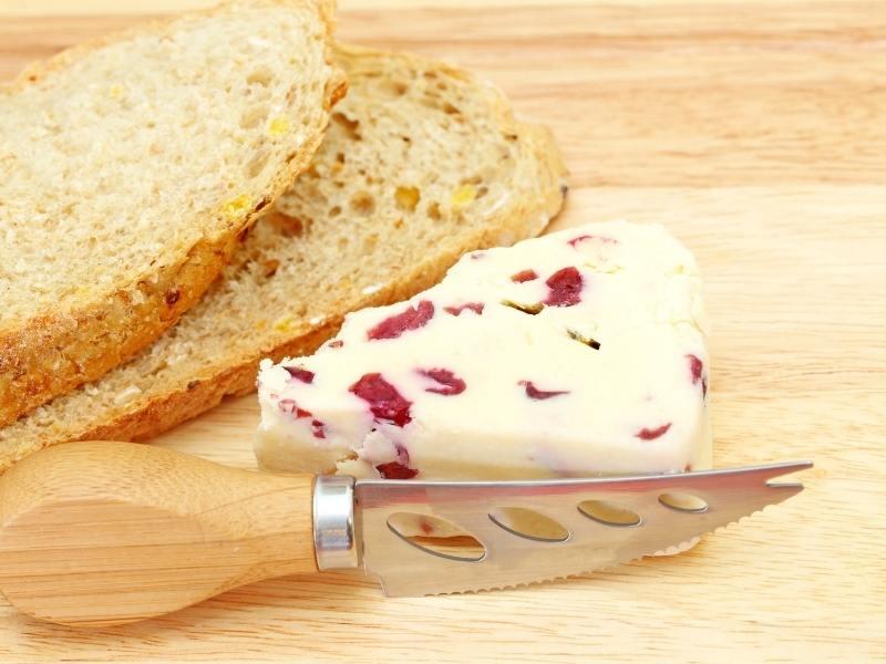 Wensleydale Cheese.