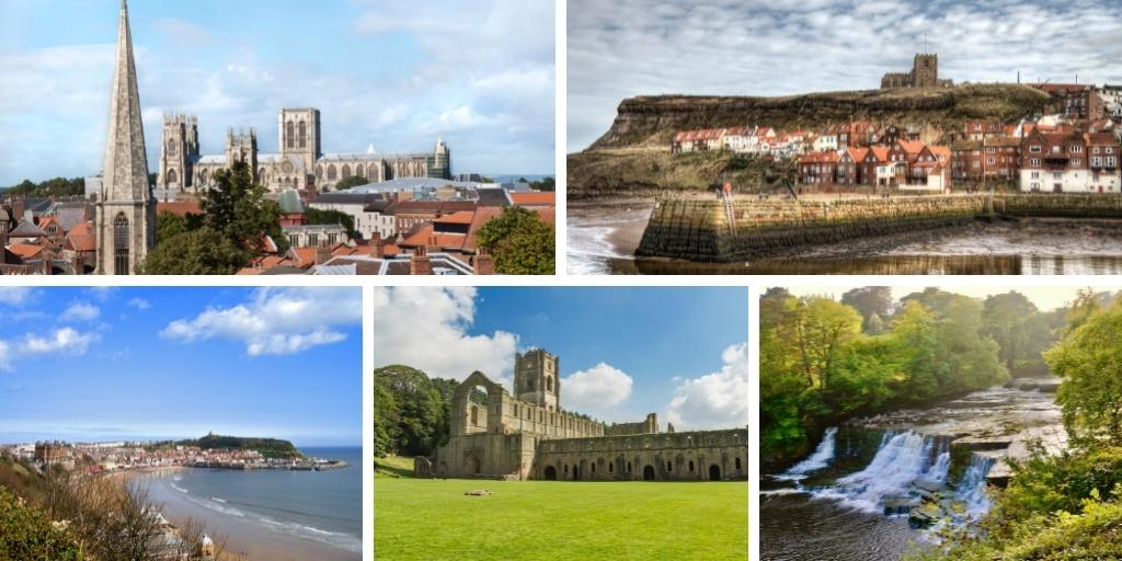 Scenes of Yorkshire for a Yorkshire Travel Guide