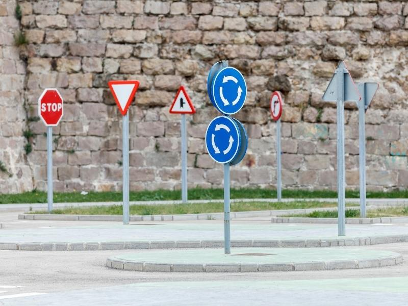 UK road signs.