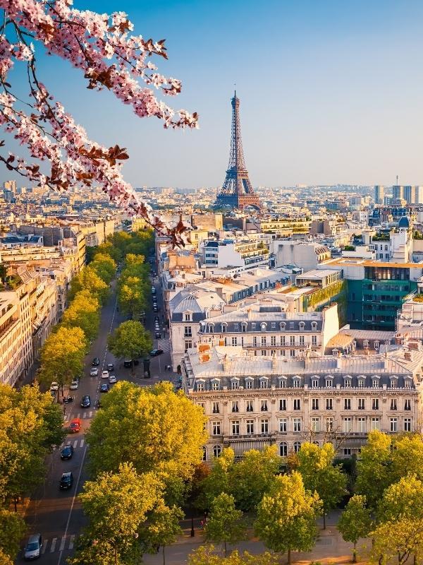 View of Paris.