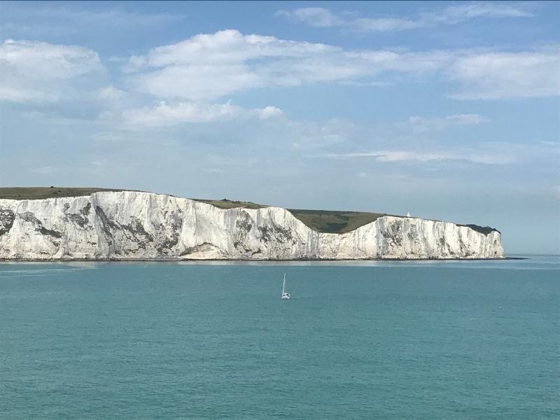 Take a day trip from London to see the white cliffs of Dover.