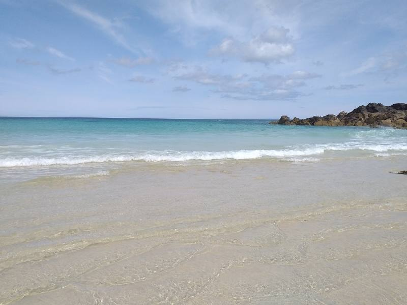 Beach at St Ives.