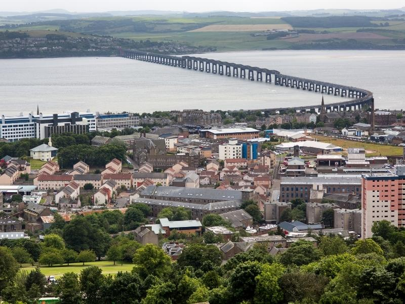 Dundee in Scotland.