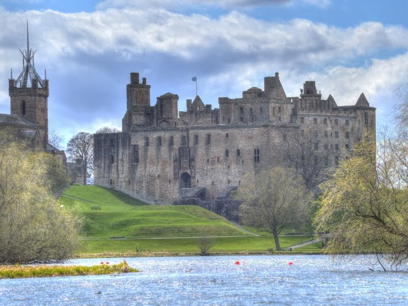 Linlithgow Palacein Scotland.