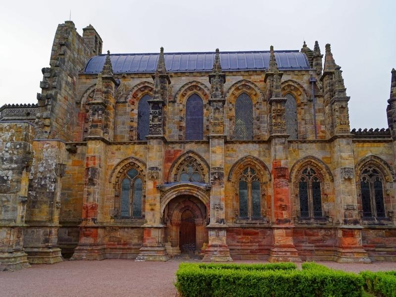 Rosslyn Chapel is a popular day trip from Edinburgh.