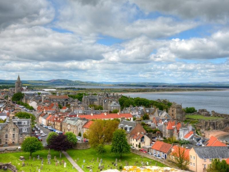 St Andrews in Scotland.