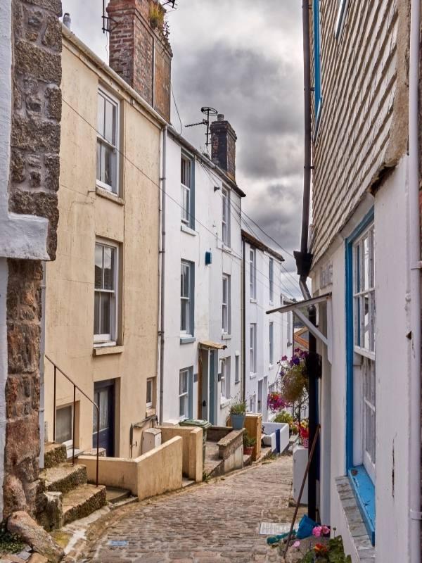 Side street in St Ives.