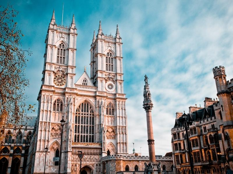 London attraction tickets are needed for destinations such as Westminster Abbey as seen in the photo.