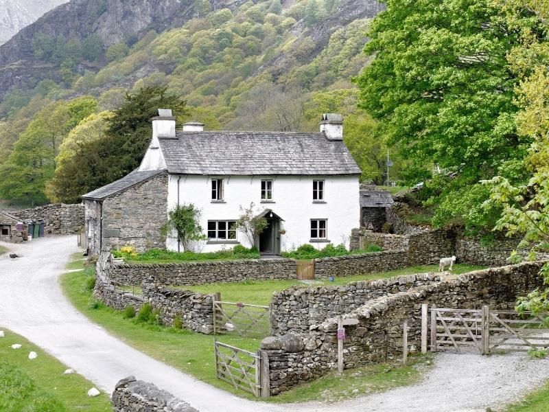Explore Literary England with a visit to Beatrix Potter's farm in the Lake District.