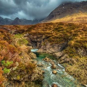 Isle of Skye fairy pools.